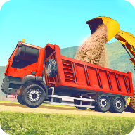 駕駛自卸卡車