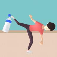 抖音瓶蓋挑戰游戲3D