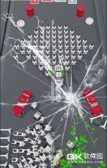 汽车粉碎世界图1