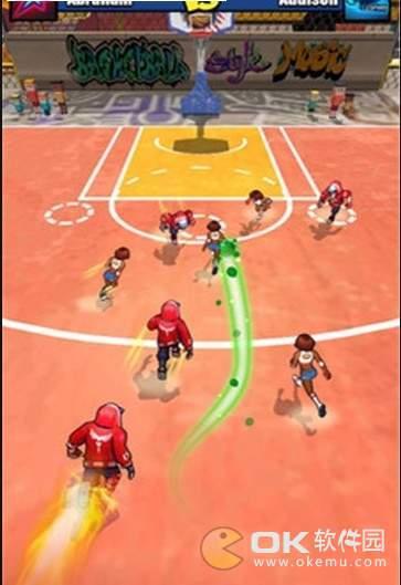 撞击篮球图1