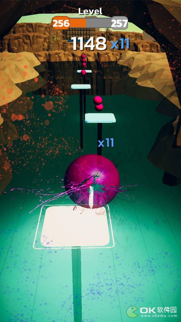 彩色跳舞球3D图2