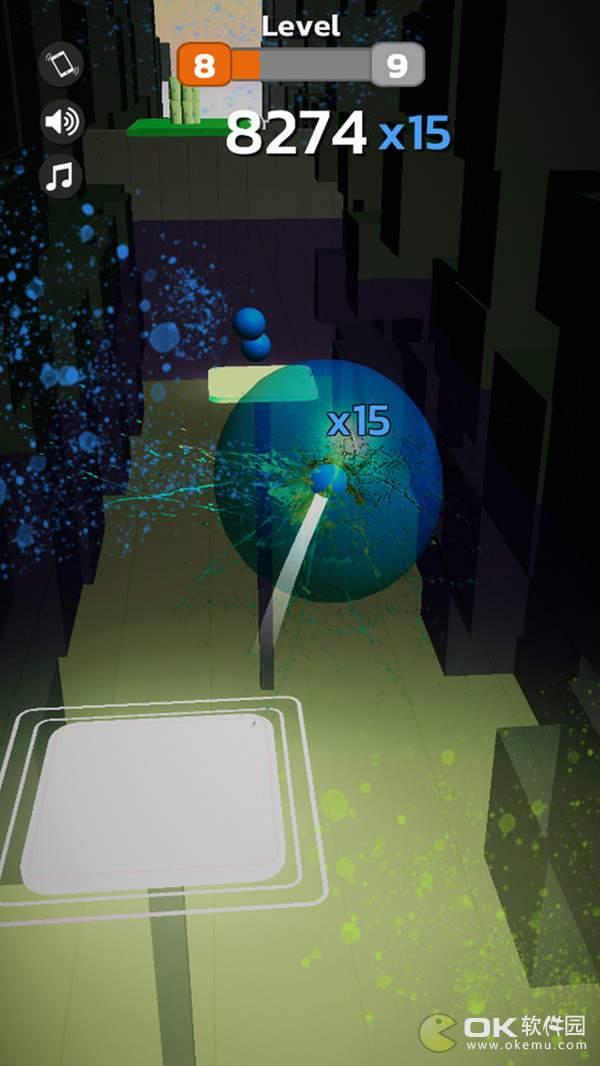 彩色跳舞球3D图1
