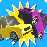 像素玩具车行驶3D