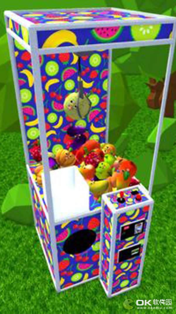 有趣的水果爪机3D图2