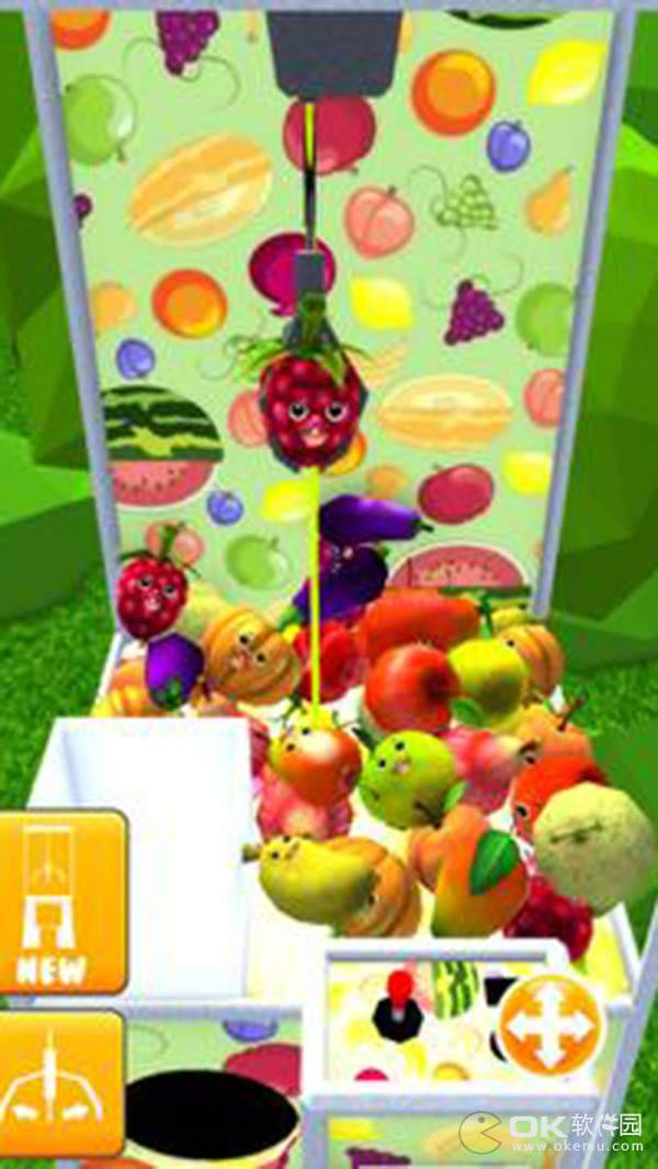 有趣的水果爪机3D图1