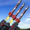 军事导弹发射台