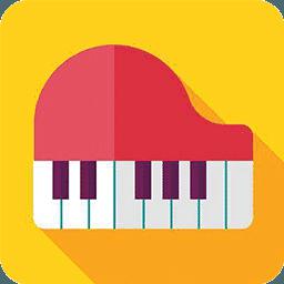 手机弹钢琴学音谱