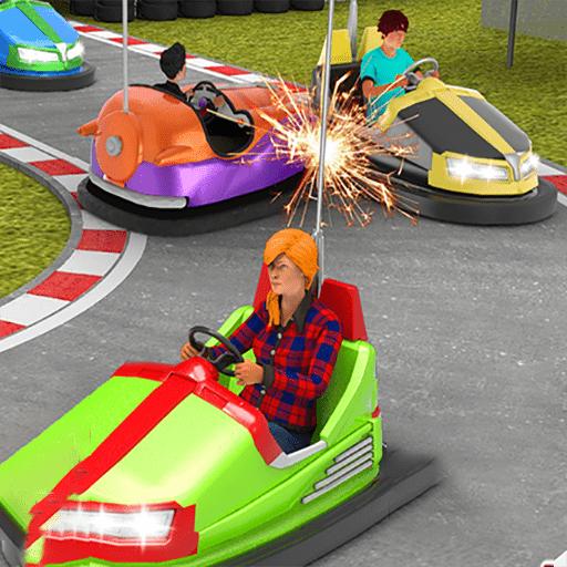 碰碰车碰撞模拟器