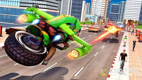 飞行摩托机器人手机版图2