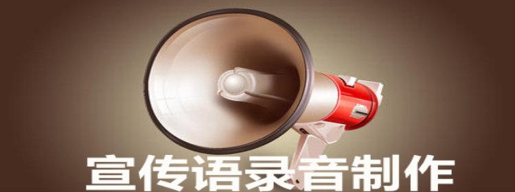 宣传语录音制作软件