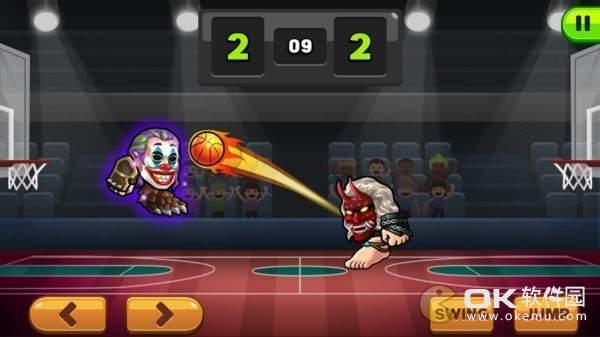 撞头篮球图1