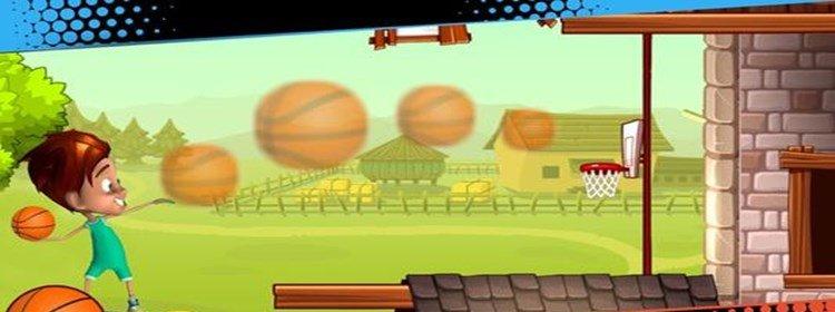 篮球闯关类游戏