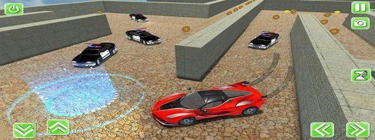 精彩的迷宫赛车游戏