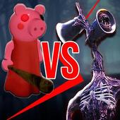 海妖头vs小猪奶奶