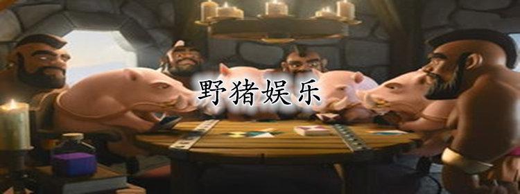 野猪娱乐系列棋牌游戏