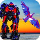 未来警察机器人飞鹰3D