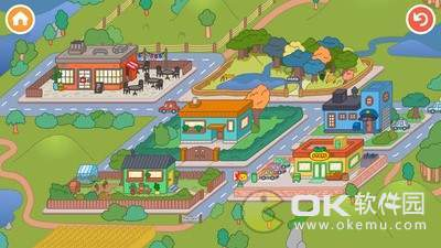 托卡小镇世界无广告版图1