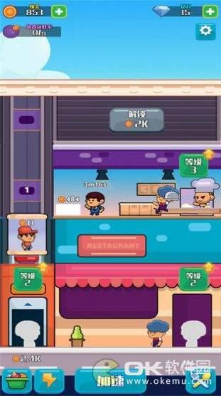 模拟快餐厅图2