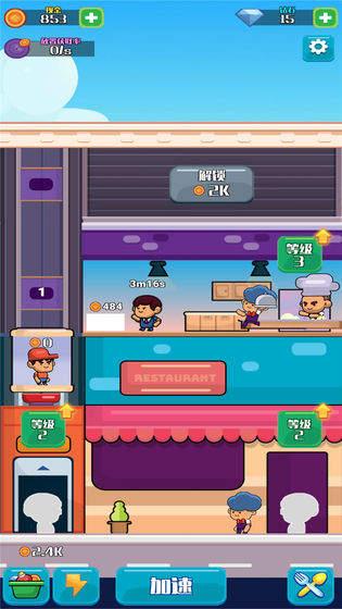 模拟快餐厅