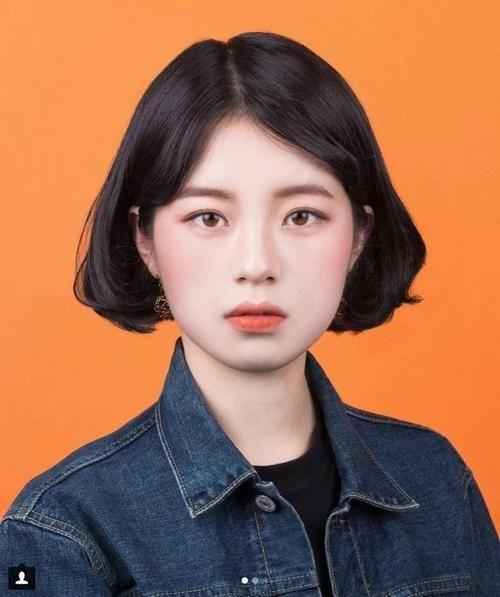 抖音韩国证件照原图