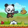 胖乎乎的熊猫射手