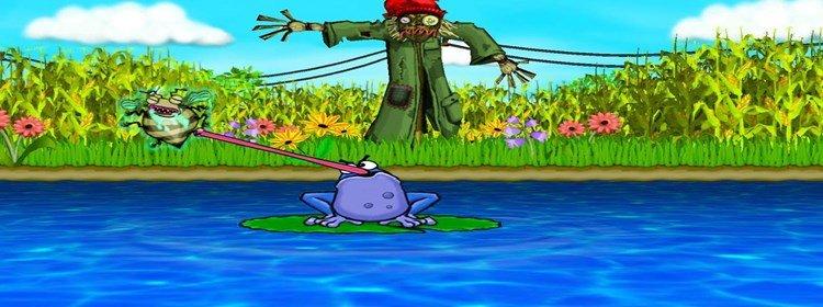 青蛙战斗类游戏