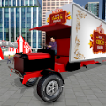 马戏团卡车司机城市接送