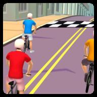 自行车奔跑