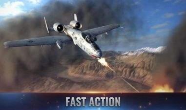 战斗机飞行员重火力