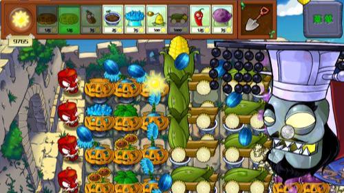 植物大战僵尸长城版西游版图4