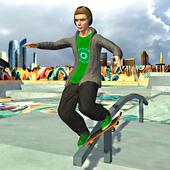 青年滑板3D
